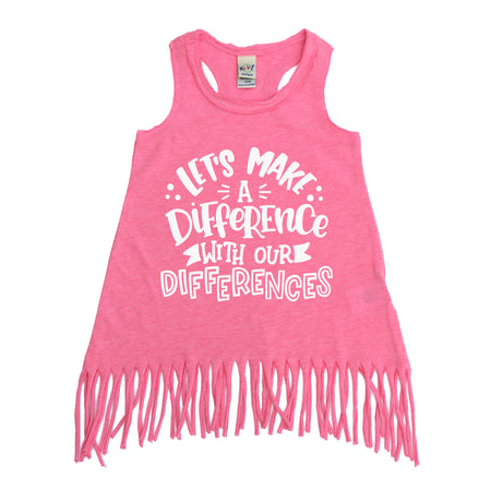 You Are Super Duper Kids Unisex Tank  |  Black Print