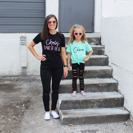 Get It, Girl Kids Tee  |  Light Purple Ink