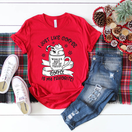 Craft Beer and Christmas Cheer Red Triblend Tee  |  White Ink