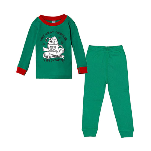 I Just Like Hot Chocolate Infant/Toddler Pajama Set