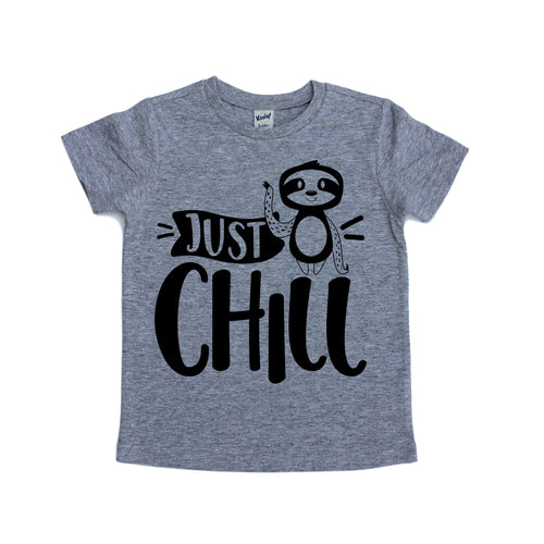 Just Chill Tee - Black Design
