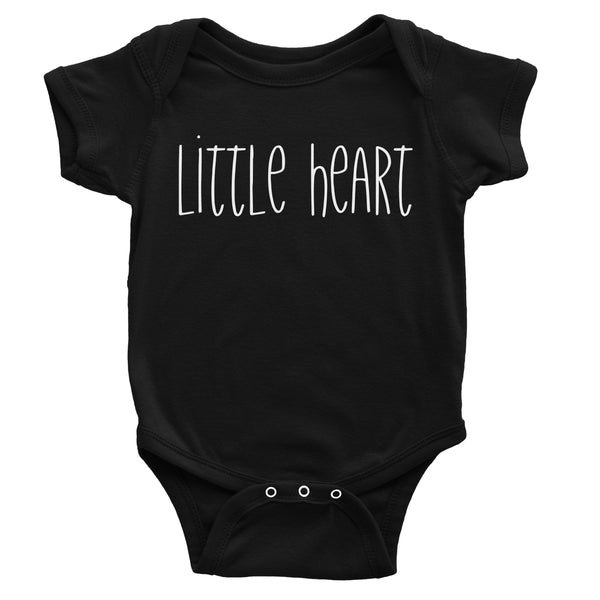 Little Heart Onesie - White Design