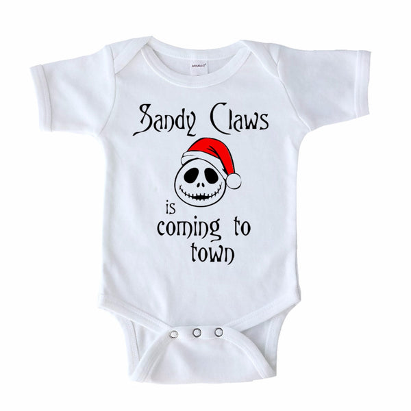 sandy claws bodysuit