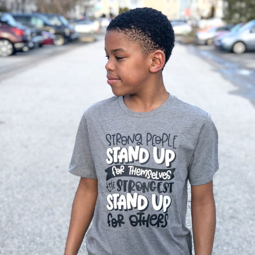 Stand Up For Others Kids Tee