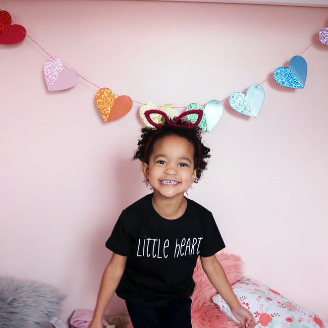 Little Heart Kids Tee  |  White Design