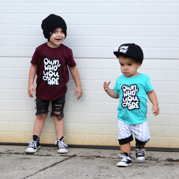 Own Who You Are Kids Tee