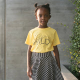 Wild Splatter Kids Tee  |  Black Ink