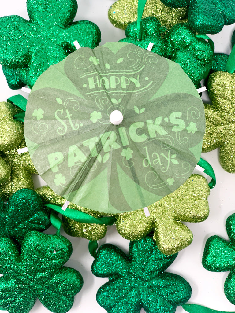 St. Patrick's Day Cocktail Umbrella