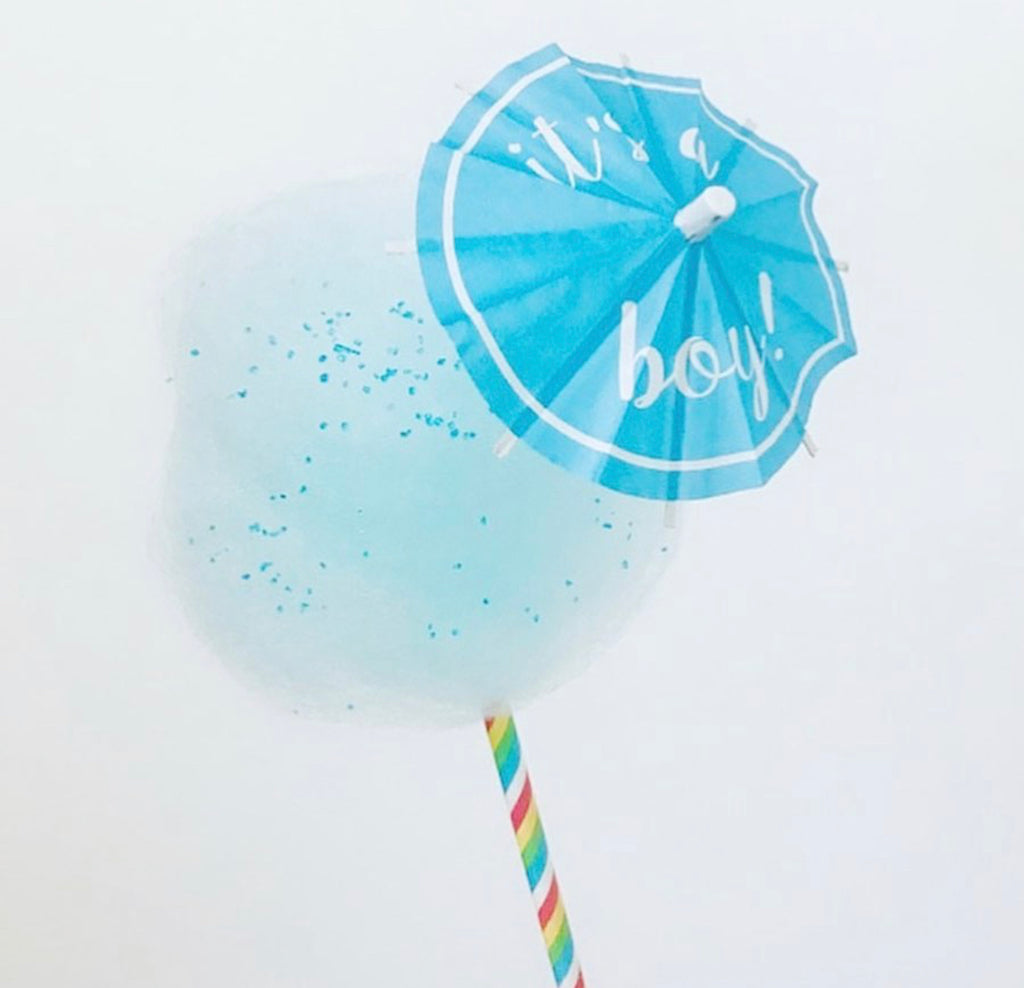 It's A Boy! Cocktail Umbrella - The Tiny Umbrella