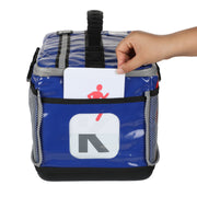 blue kit bag