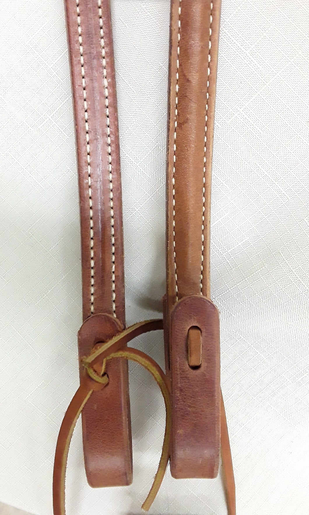 "Reins - RE15 Split Reins. 3/4"" 8' Brown"
