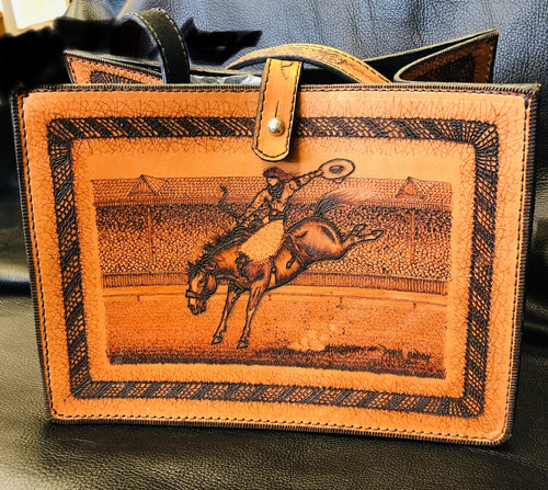 Gifts - PU Dirk Godby Hand Made Purse