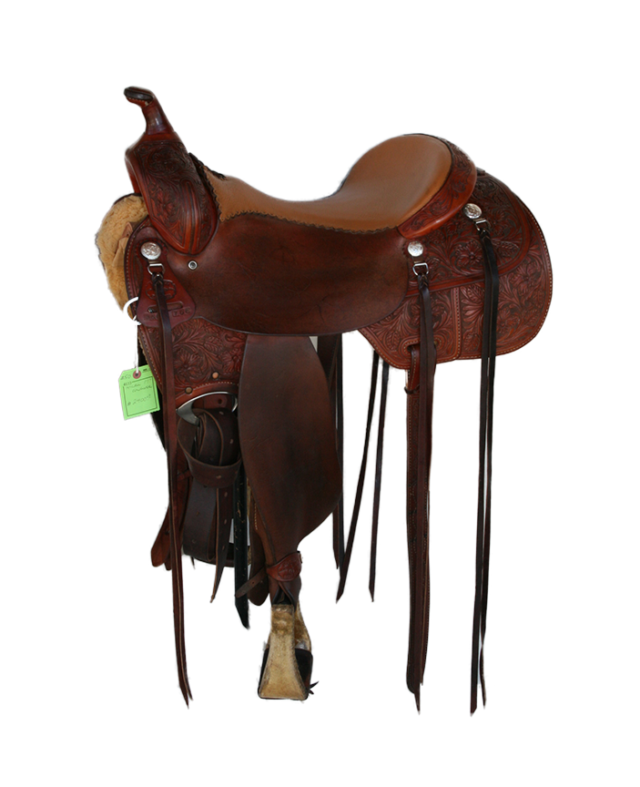 Saddle - S50   McCall Cowhorse 17