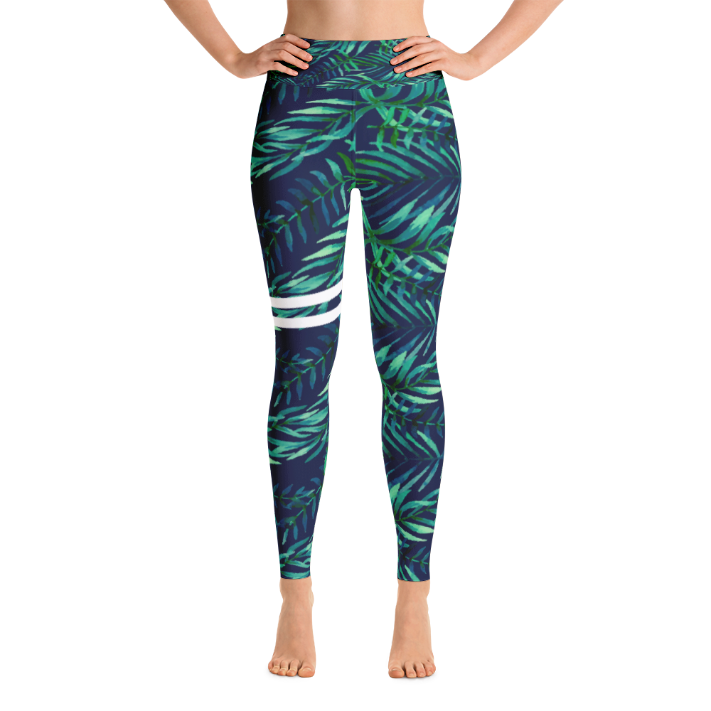 Canopy Striped Yoga Leggings