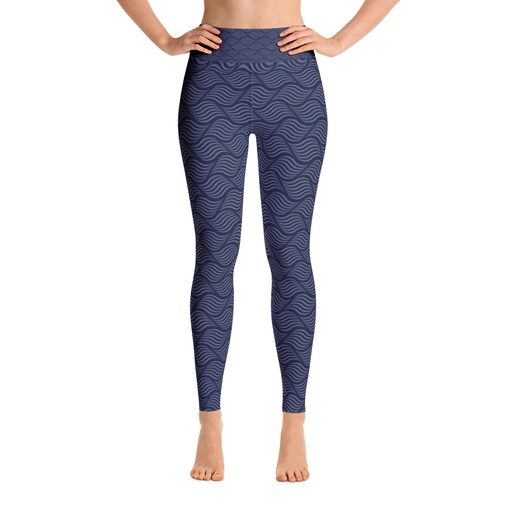 Conchiglie Yoga Leggings