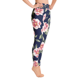 Rosé Garden Yoga Leggings
