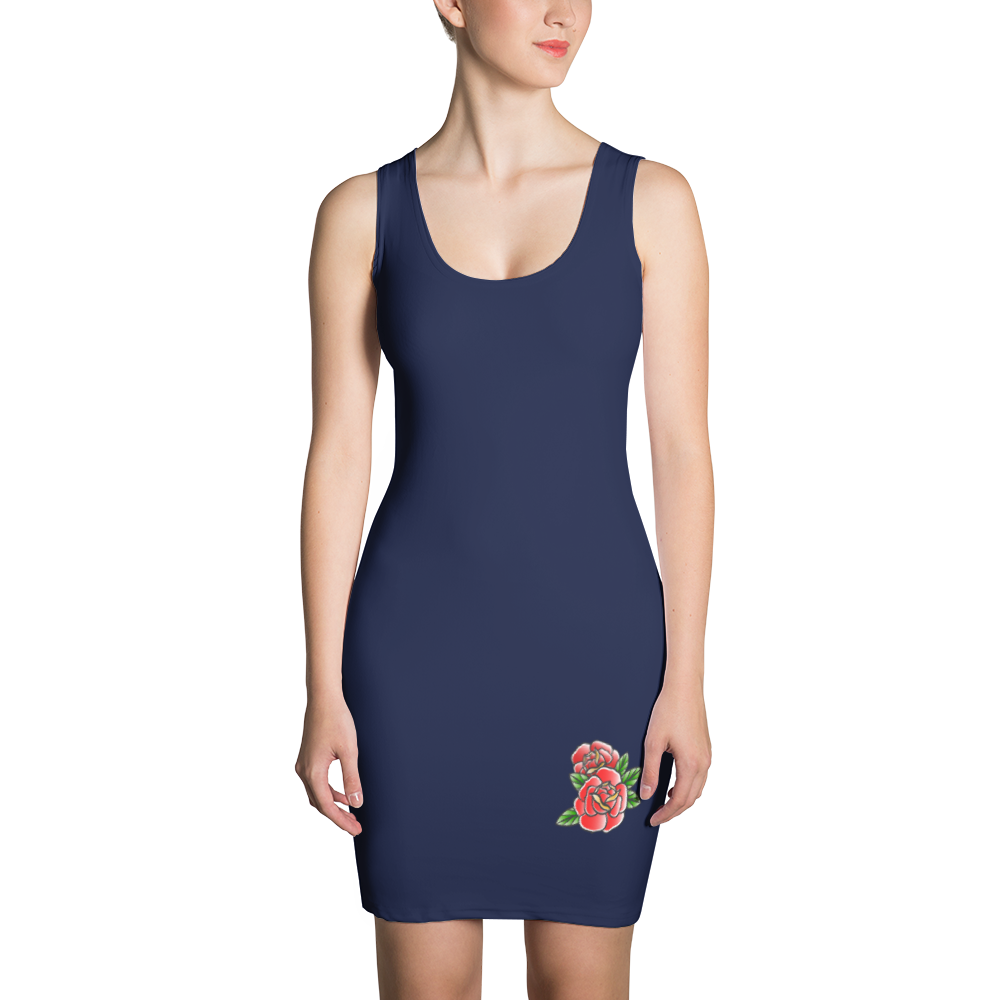 Twin Roses Dress