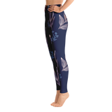 Night Garden Yoga Leggings