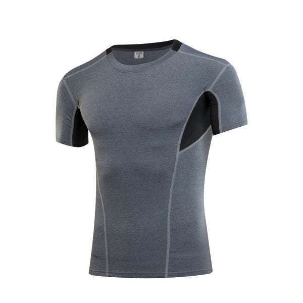 Cool Men Compression Sport T-Shirt Quick Dry - Ready Set GO Sports sporting goods