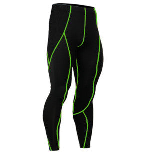 Men's Compression Pants Pure Color Long Leggings MMA - Ready Set GO Sports sporting goods