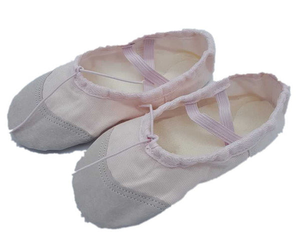 fan wu fang 5 Color Skin Soft Canvas Flat Dance Ballet Shoes - Ready Set GO Sports sporting goods