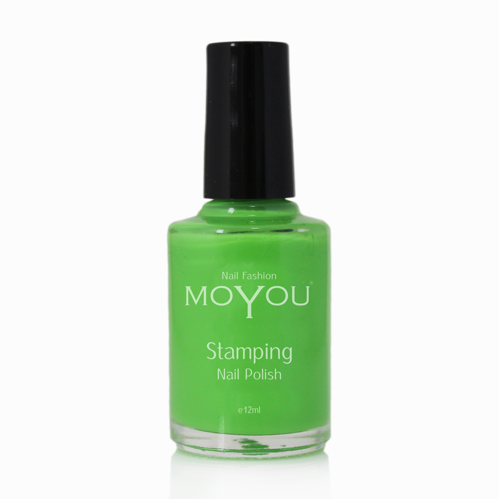 Atlantic Green Stamping Nail Polish- MoYou Nail Fashion