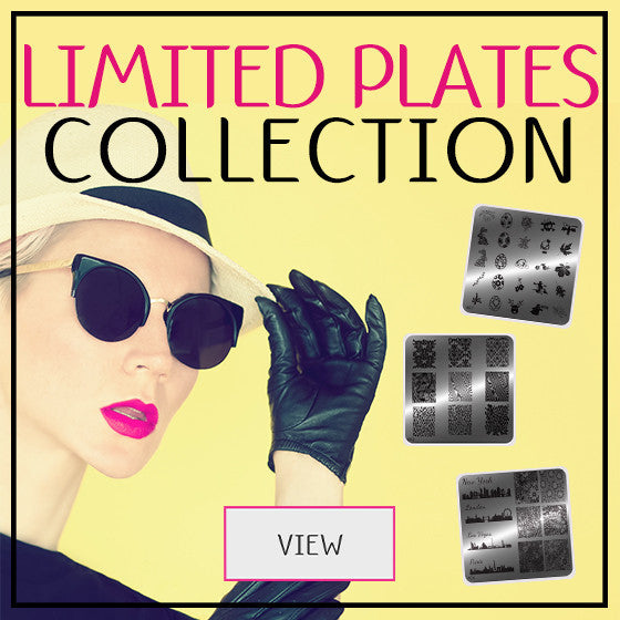 Limited Plate Collection - MoYou Nail Fashion