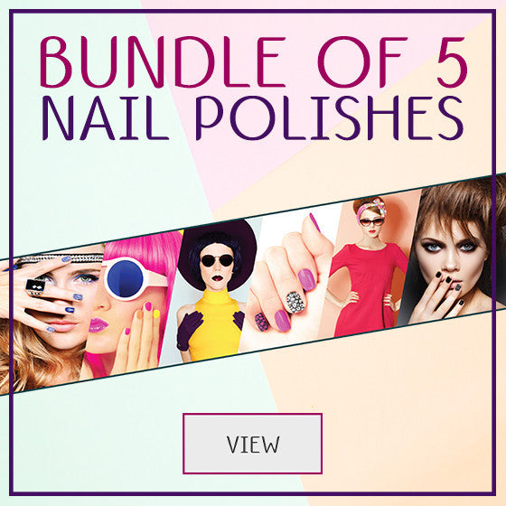 Bundle of 5 Nail Polishes