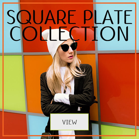Square Image Plate Collection - MoYou Nail Fashion