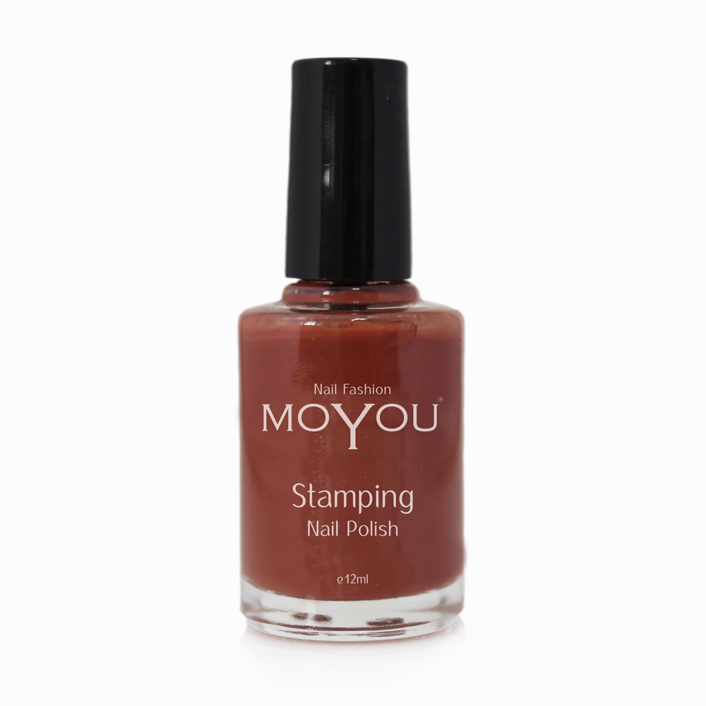 Chocolate spice Stamping Nail Polish- MoYou Nail Fashion