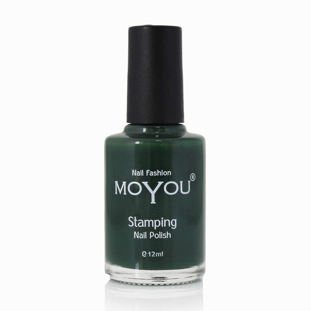 Forest Green Stamping Nail Polish- MoYou Nail Fashion