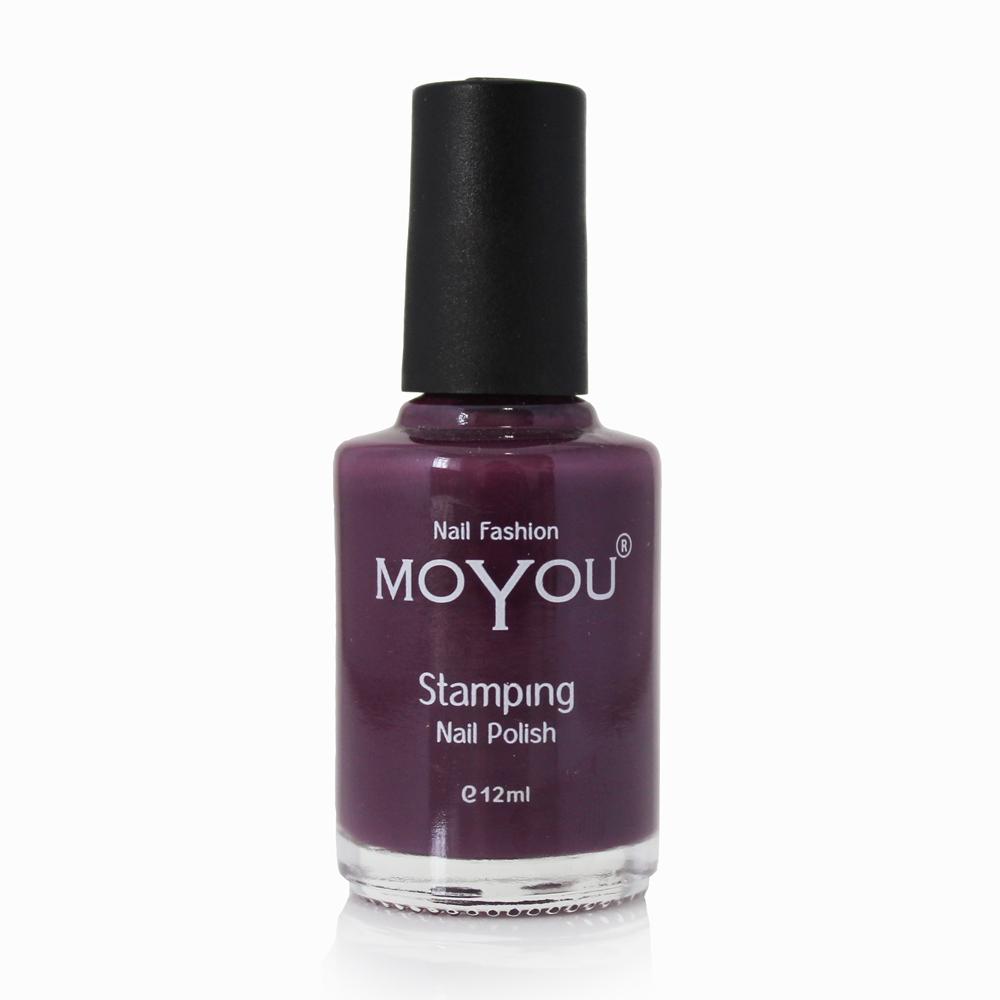 Purple Rain Stamping Nail Polish- MoYou Nail Fashion