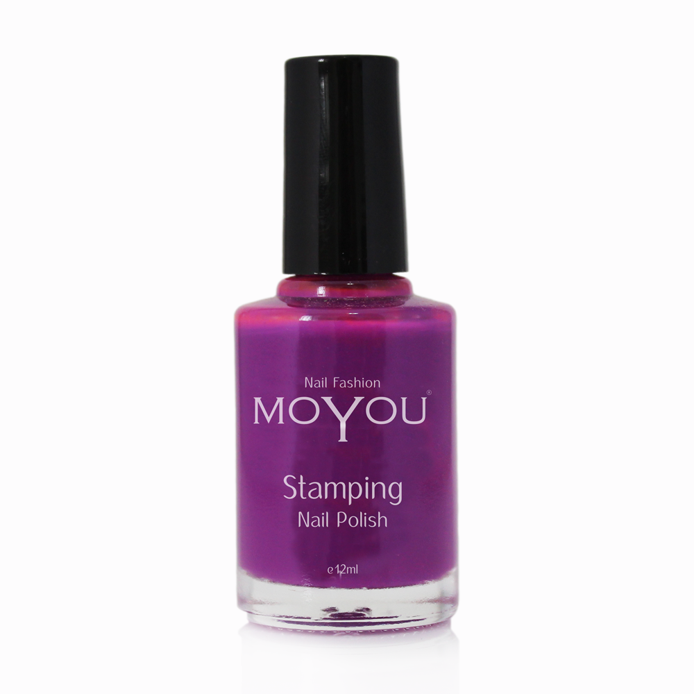 Royal Purple Stamping Nail Polish- MoYou Nail Fashion