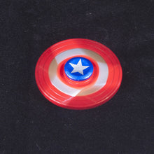 Captain America Tri Fidget Spinner - Metal - Superhero Spinners