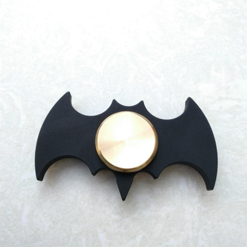 Batman Fidget Spinner -Metal with gold plated center - Superhero Spinners