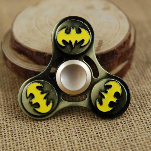 Batman Superhero Symbol Fidget Spinner - Metal - Superhero Spinners
