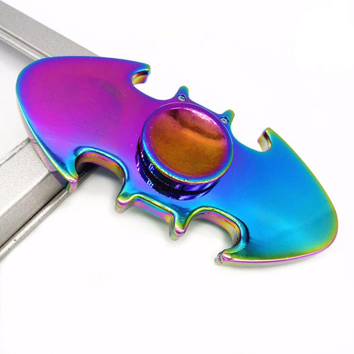 Aluminum alloy plating multi-color Batman fidget spinner - Superhero Spinners