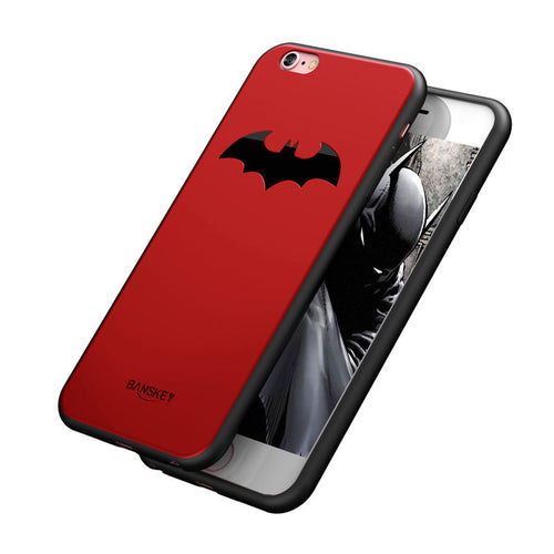 Luxury Thin Batman Case For iPhone