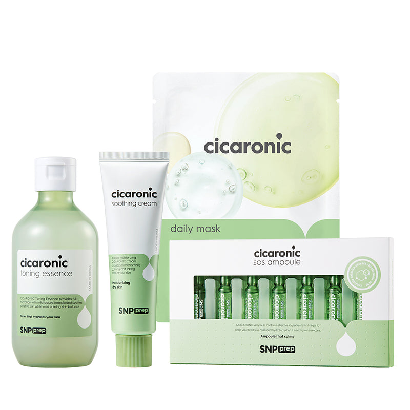PREP - Cicaronic Skin Care Set