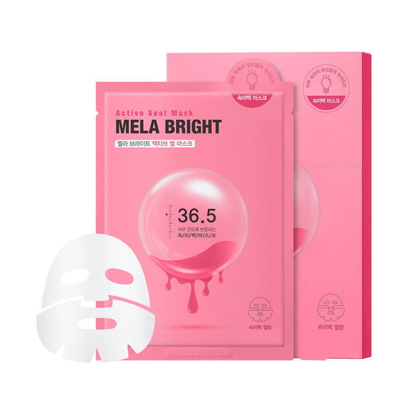 Mela Bright Active Seal Sheet Mask (5 Sheets)