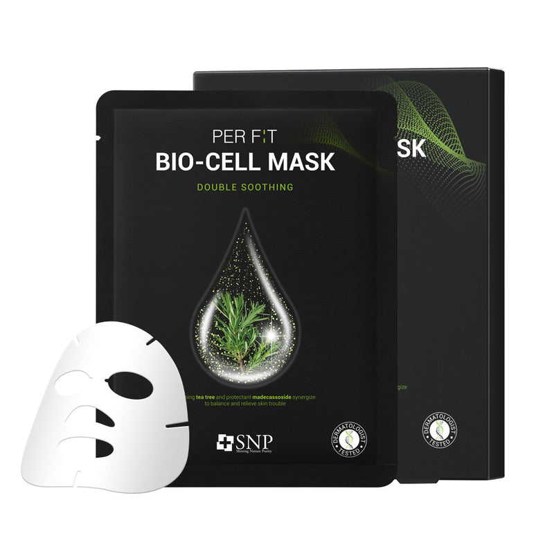 PER F:T BIO-CELL Sheet Mask Double Soothing (5 Sheets)