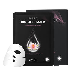PER F:T BIO-CELL Sheet Mask Double Brightening (5 Sheets)