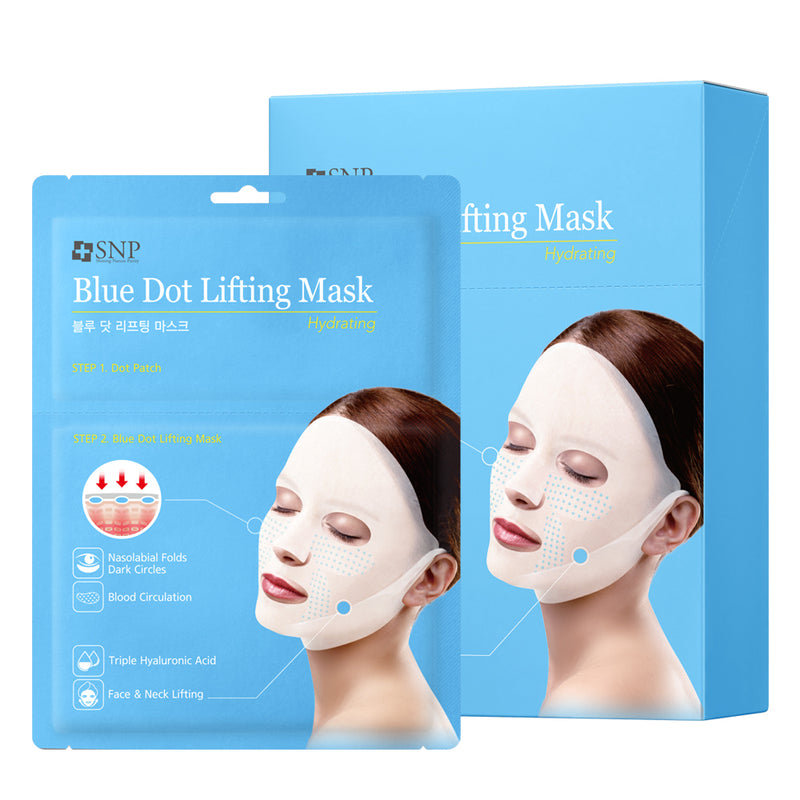 Blue Tension Hydra Lifting Sheet Mask (20 Sheets)