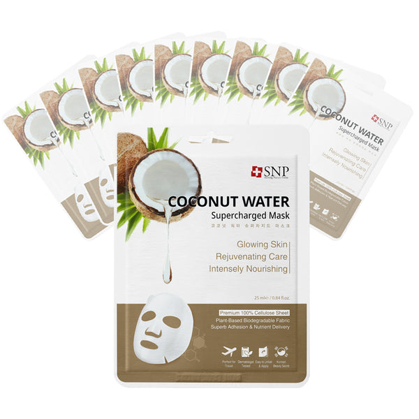 Coconut Water Supercharged Sheet Mask (10 Sheets)