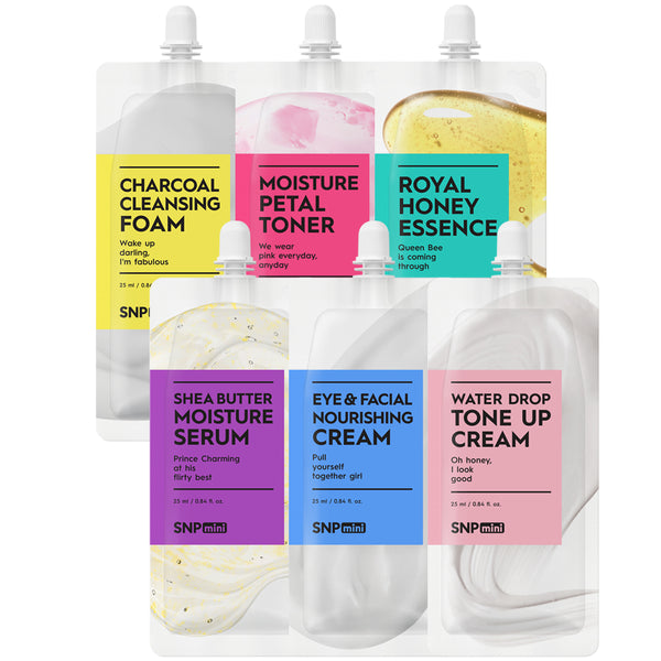 mini - Skin Care Variety Pack (25ml per Pack)