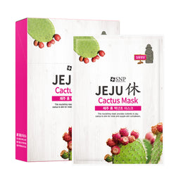 Jeju Rest Cactus Sheet Mask (10 Sheets)
