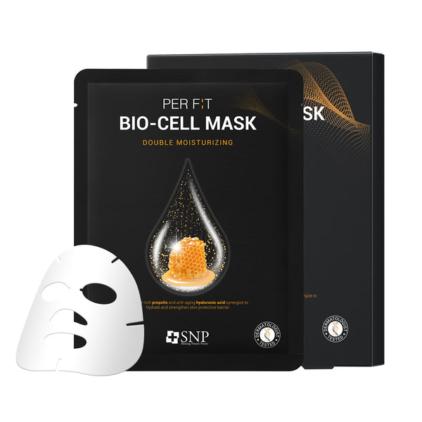 PER F:T BIO-CELL Sheet Mask Double Moisturizing (5 Sheets)