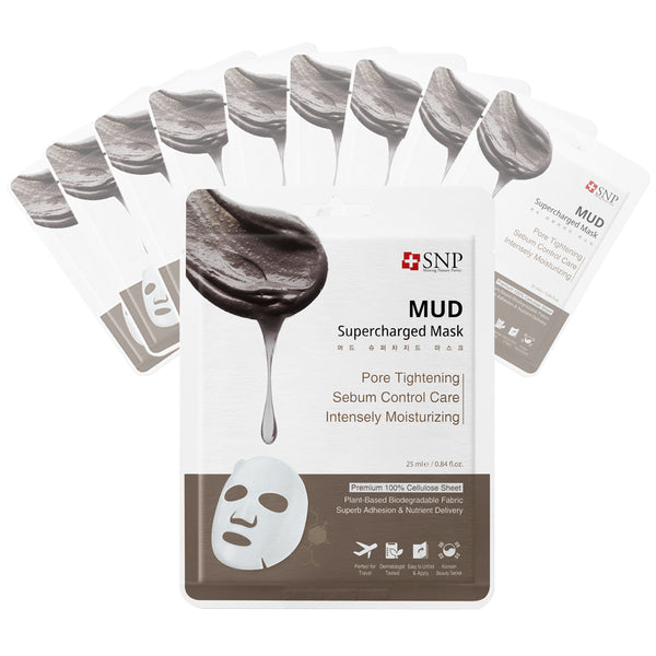 Mud Supercharged Sheet Mask (10 Sheets)