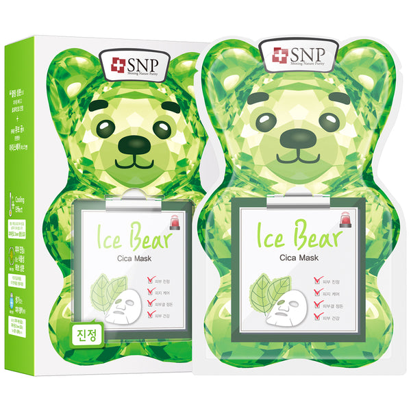 Ice Bear Cica Sheet Mask (10 Sheets)