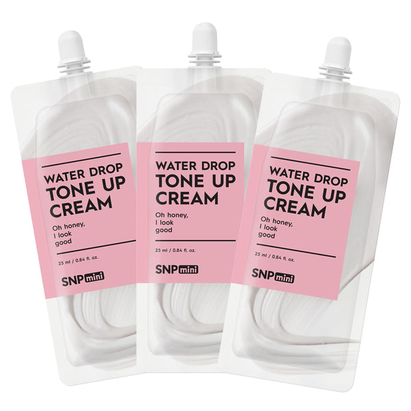 SNP mini - Water Drop Tone Up Cream (25ml per Pack)